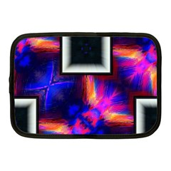 Box Abstract Frame Square Netbook Case (medium)