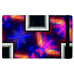 Box Abstract Frame Square Apple Ipad 2 Flip Case by Pakrebo