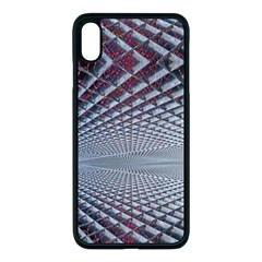 Metal Sci Fi Fantasy Background Apple Iphone Xs Max Seamless Case (black)