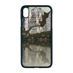 Sea Fortress Lake Reflection Sky Apple Iphone Xr Seamless Case (black)