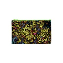 Lilies Abstract Flowers Nature Cosmetic Bag (xs)