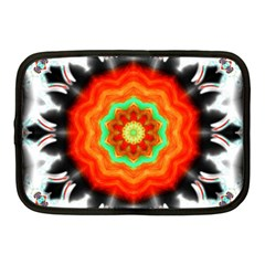 Abstract Kaleidoscope Colored Netbook Case (medium) by Pakrebo