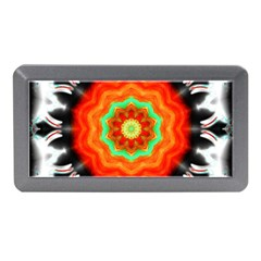 Abstract Kaleidoscope Colored Memory Card Reader (mini) by Pakrebo