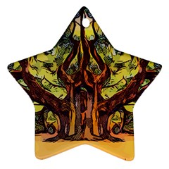 Tree Monster Maestro Landscape Ornament (star)