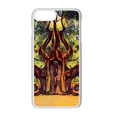 Tree Monster Maestro Landscape Apple Iphone 7 Plus Seamless Case (white)