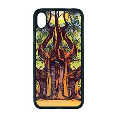 Tree Monster Maestro Landscape Apple Iphone Xr Seamless Case (black)