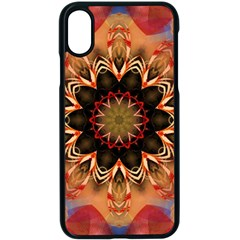 Abstract Kaleidoscope Design Apple Iphone X Seamless Case (black)