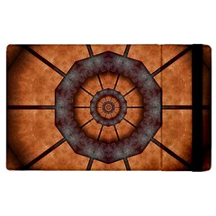Abstract Kaleidoscope Texture Apple Ipad 3/4 Flip Case by Pakrebo
