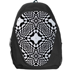 Tile Repeating Pattern Texture Backpack Bag by Pakrebo