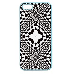 Tile Repeating Pattern Texture Apple Seamless Iphone 5 Case (color)