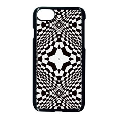 Tile Repeating Pattern Texture Apple Iphone 8 Seamless Case (black)