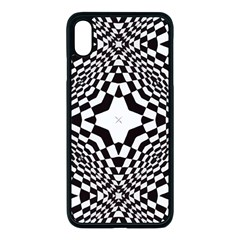 Tile Repeating Pattern Texture Apple Iphone Xs Max Seamless Case (black)