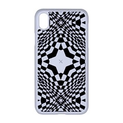 Tile Repeating Pattern Texture Apple Iphone Xr Seamless Case (white)