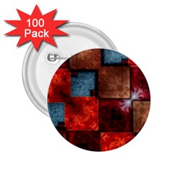 Abstract Depth Structure 3d 2 25  Buttons (100 Pack)