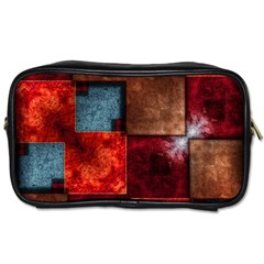 Abstract Depth Structure 3d Toiletries Bag (one Side)
