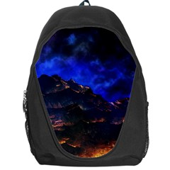 Landscape Sci Fi Alien World Backpack Bag by Pakrebo