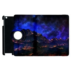 Landscape Sci Fi Alien World Apple Ipad 3/4 Flip 360 Case