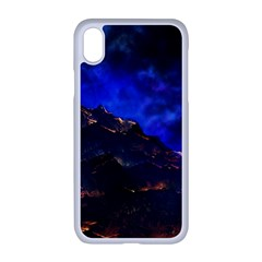 Landscape Sci Fi Alien World Apple Iphone Xr Seamless Case (white)