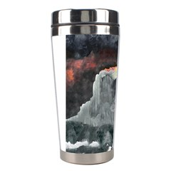 Mountains Scene Landscape Stainless Steel Travel Tumblers by Pakrebo