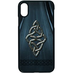 The Celtic Knot Apple Iphone Xs Seamless Case (black) by FantasyWorld7