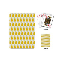 Pears Fruit Fruits Autumn Harvest Playing Cards (mini)