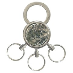 Grunge Camo Print Design 3 Ring Key Chains by dflcprintsclothing