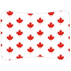 Maple Leaf Canada Emblem Country Velour Seat Head Rest Cushion