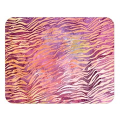 Funny Galaxy Tiger Pattern Double Sided Flano Blanket (large)  by tarastyle