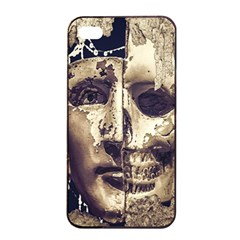 Creepy Photo Collage Artwork Apple Iphone 4/4s Seamless Case (black) by dflcprintsclothing