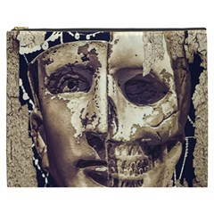 Creepy Photo Collage Artwork Cosmetic Bag (xxxl) by dflcprintsclothing
