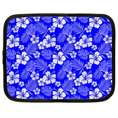 Colorful Tropical Hibiscus Pattern Netbook Case (xxl) by tarastyle