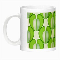 Herb Ongoing Pattern Plant Nature Night Luminous Mugs