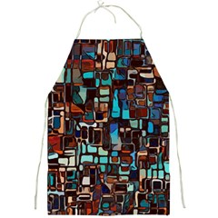 Mosaic Abstract Full Print Aprons