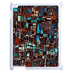 Mosaic Abstract Apple Ipad 2 Case (white)