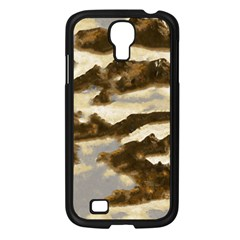 Mountains Ocean Clouds Samsung Galaxy S4 I9500/ I9505 Case (black)