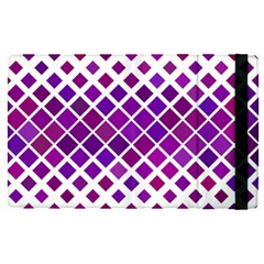 Pattern Square Purple Horizontal Apple Ipad Pro 9 7   Flip Case