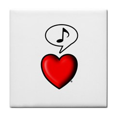 Whistling Heart   By Larenard Studios Tile Coasters