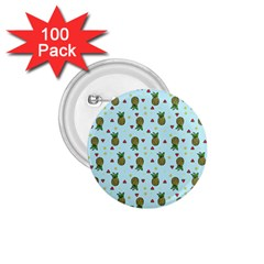 Pineapple Watermelon Fruit Lime 1 75  Buttons (100 Pack)