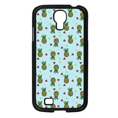 Pineapple Watermelon Fruit Lime Samsung Galaxy S4 I9500/ I9505 Case (black)