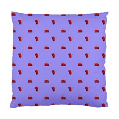 Candy Apple Lilac Pattern Standard Cushion Case (one Side)