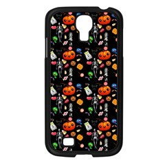 Halloween Treats Pattern Black Samsung Galaxy S4 I9500/ I9505 Case (black)