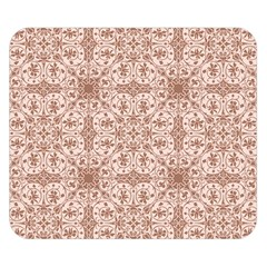 Ornamental Brown Double Sided Flano Blanket (small)  by snowwhitegirl