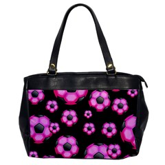 Wallpaper Ball Pattern Pink Oversize Office Handbag by Alisyart