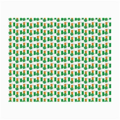 St Patricks Day Background Ireland Small Glasses Cloth (2 Side)