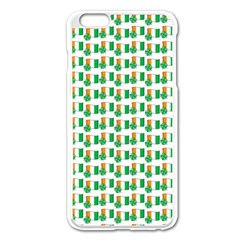 St Patricks Day Background Ireland Apple Iphone 6 Plus/6s Plus Enamel White Case