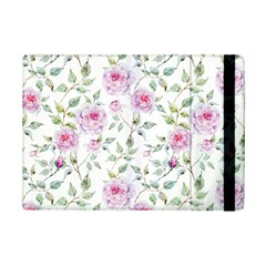 Pink Flowers Ipad Mini 2 Flip Cases by goljakoff