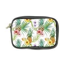 Tropical Pineapples Pattern Coin Purse