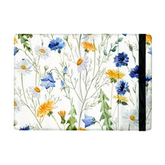 Blue And Yellow Flowers Ipad Mini 2 Flip Cases by goljakoff