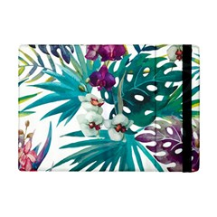 Monstera Flowers Ipad Mini 2 Flip Cases by goljakoff