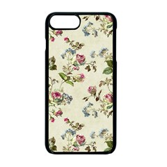Vintage Roses Apple Iphone 7 Plus Seamless Case (black) by retrotoomoderndesigns